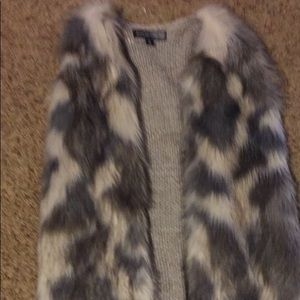 Almost Famous Faux Fur Vest